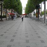 Champs Elysées Paris - Revêtement sol