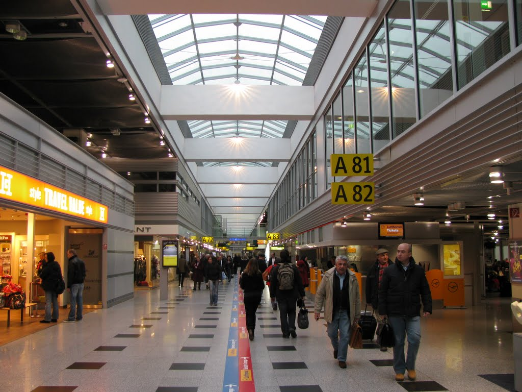 Aéroport de Düsseldorf, Allemagne