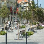 Place Clémenceau à Biarritz