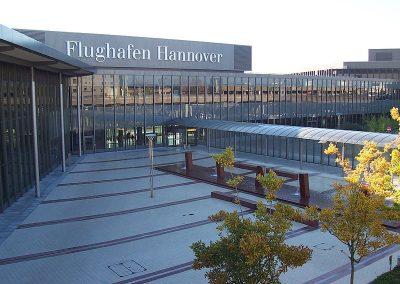 Aéroport de Hanovre, Allemagne