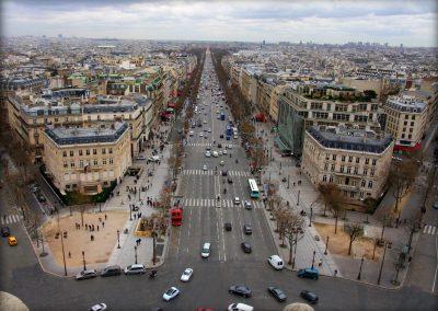 Avenue des Champs Élysées – Paris – France