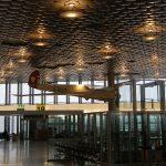 Entrée de l'aéroport Hanovre