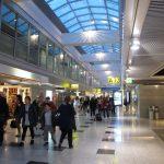 Dusseldorf aéroport en Allemagne